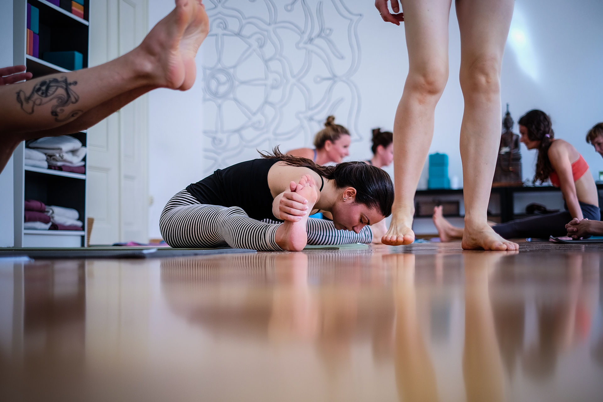 Photos from the Traditional Ashtanga Yoga Workshop with Philippa Asher