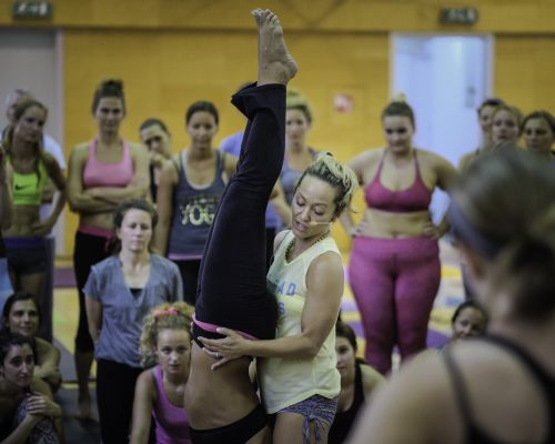 Kino MacGregor Workshop in Photos and a Surprise Gift
